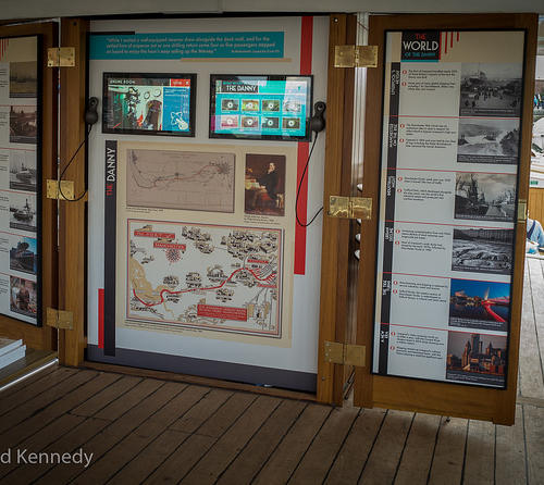Our history boards for you to read and listen to
