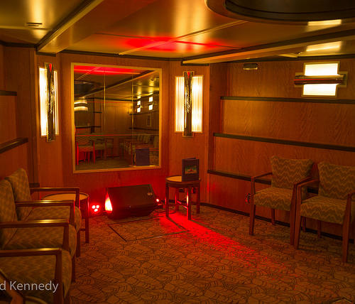 Our lower Art Deco Saloon
